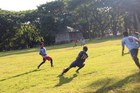 Keikutsertaan pada Porseni pada cabang sepakbola