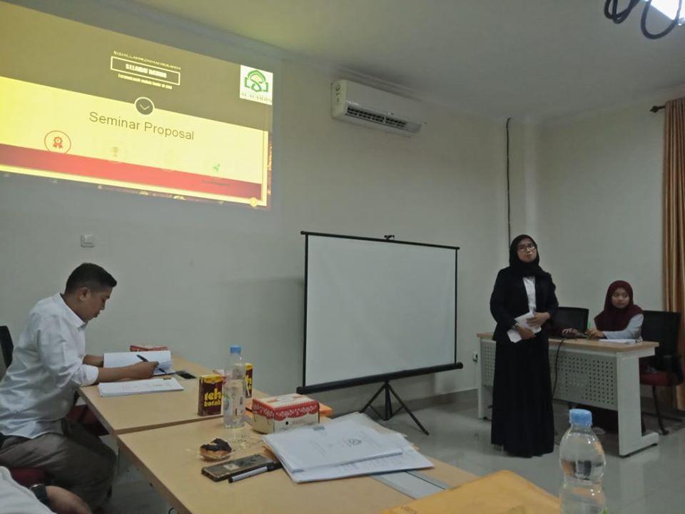 26 Februari 2020 seminar proposal Program Studi Perbankan Syariah, FEBI, UIN Alauddin Makassar